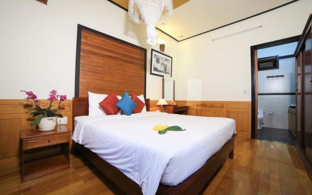 Отель Quang Xuong Homestay комната для гостей