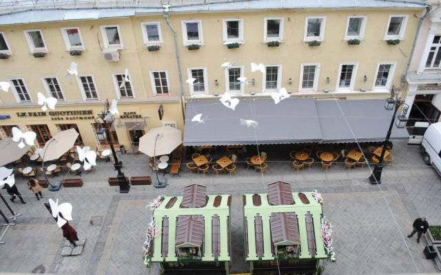 Отель Жилое помещение Stay Inn Москва вид на фасад