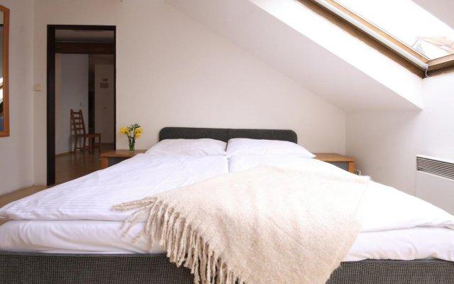 Отель Jungmann Central Residence Прага комната для гостей