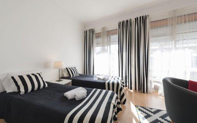 Отель BmyGuest - Santa Catarina's Loft комната для гостей