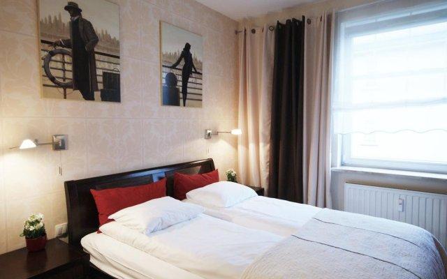 Отель Apartament Parkur Komfort Сопот комната для гостей