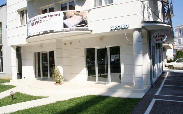 Отель Vila Apolo вид на фасад