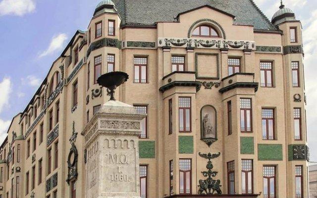 Отель Moskva вид на фасад