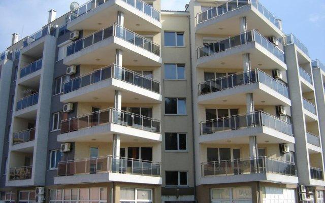 Апартаменты Apartment Viva вид на фасад