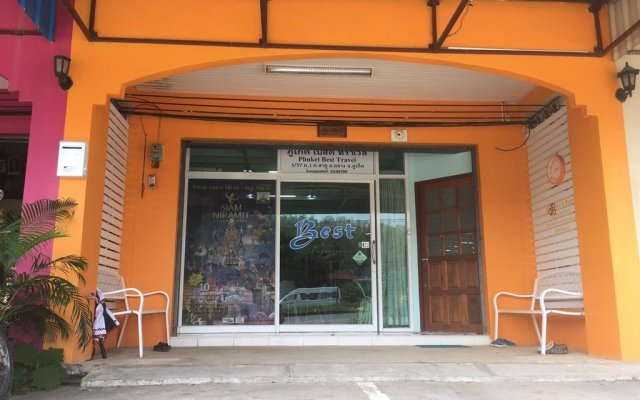 Отель Phuket Best Travel вид на фасад