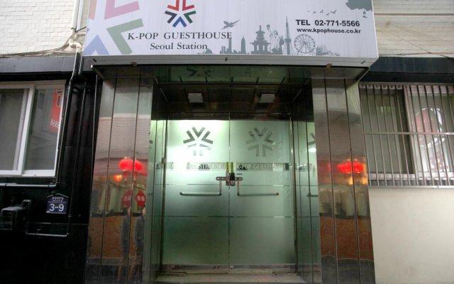 Отель K-POP GUESTHOUSE Seoul Station вид на фасад
