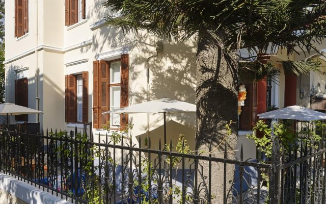 Отель Villa Sanyan Греция, Родос - отзывы, цены и фото номеров - забронировать отель Villa Sanyan онлайн вид на фасад