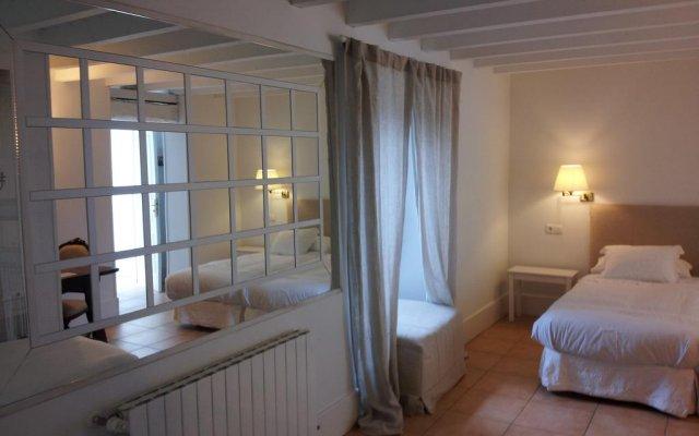 Отель Posada La Panaderia De Castañeda комната для гостей