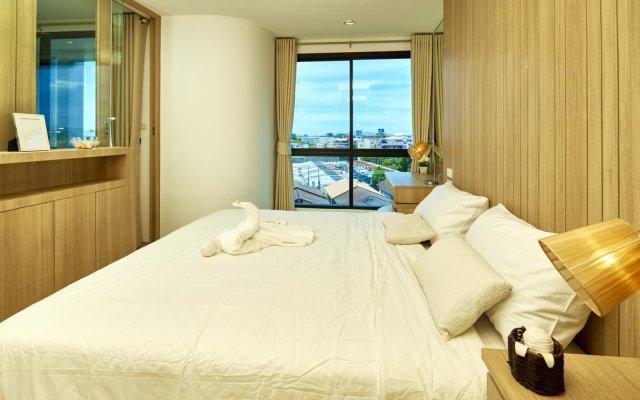Отель The Chezz Central Condo By Mypattayastay Паттайя комната для гостей