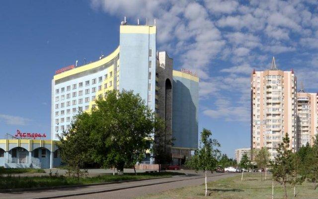 Гостиница Sary Arka вид на фасад