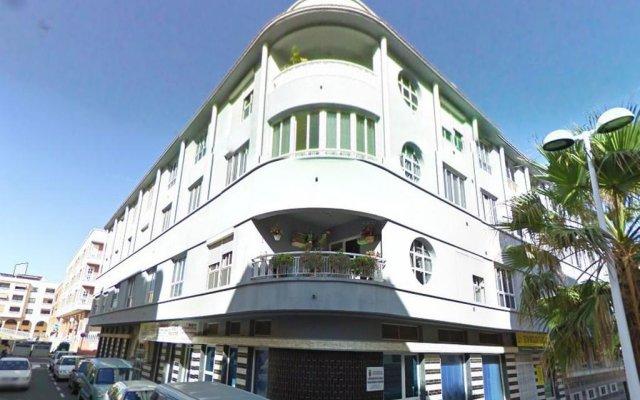 Отель El Medano Mediterraneo вид на фасад