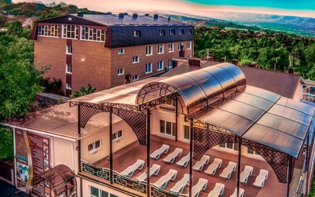 Гостиница Sanatory Elita вид на фасад