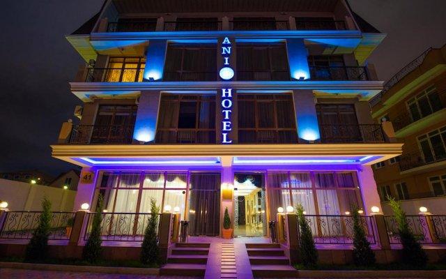 Бутик-отель ANI Сочи вид на фасад