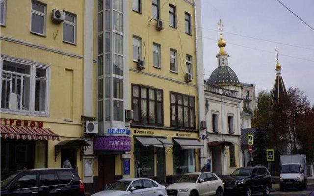Отель Tikhy Tchas Nikitskaya Москва вид на фасад
