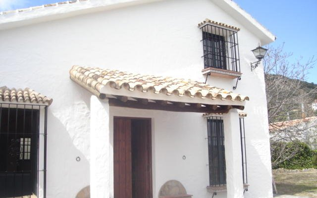 Отель El Cañuelo вид на фасад