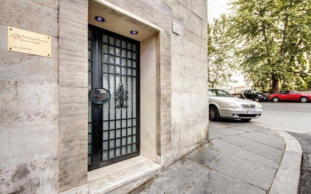 Отель Domizia Sancti Angeli Италия, Рим - 1 отзыв об отеле, цены и фото номеров - забронировать отель Domizia Sancti Angeli онлайн вид на фасад