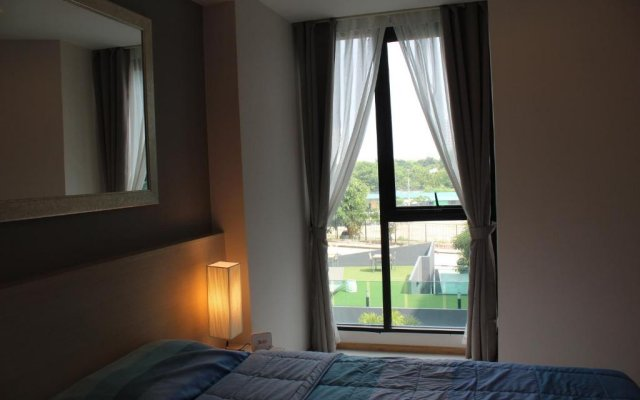 Отель Acqua Condotel No.31 284 Паттайя комната для гостей