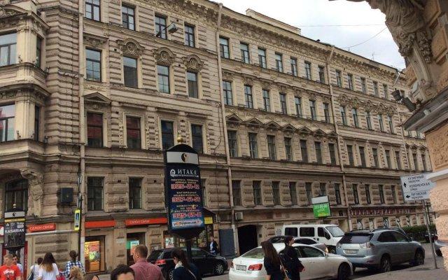 Гостиница Nevsky 79 вид на фасад