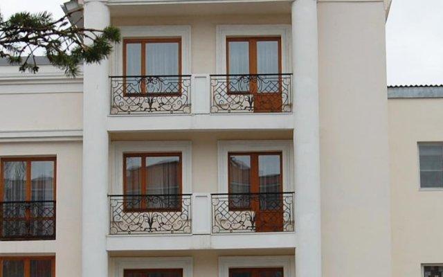 Гостиница Старый Сталинград вид на фасад