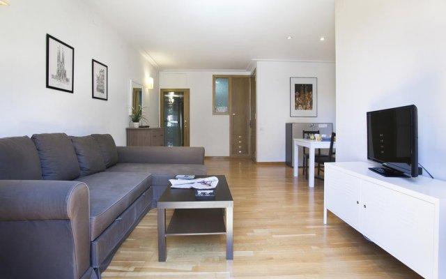 Отель Bbarcelona Corsega Flats Барселона комната для гостей