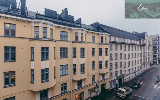 Отель 4pillowsapartments Kalevankatu вид на фасад