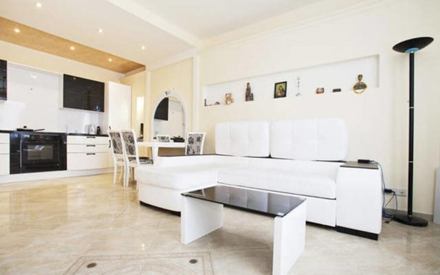 Апартаменты Apartment Zamoskvorechye Tsaritsyno комната для гостей