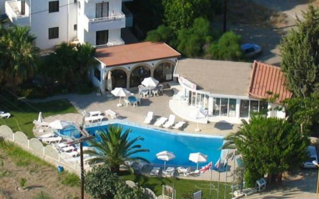 Отель Dolphin Apartments Греция, Родос - отзывы, цены и фото номеров - забронировать отель Dolphin Apartments онлайн вид на фасад