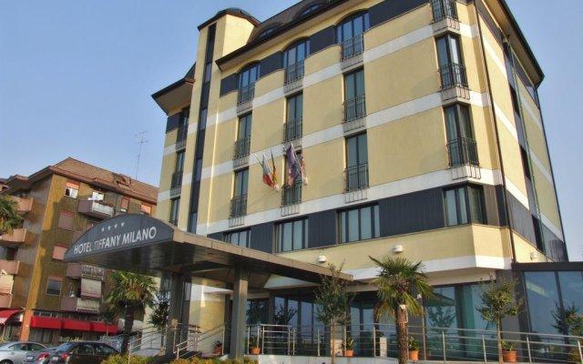 Hotel Tiffany Milano Треццано-суль-Навиглио вид на фасад
