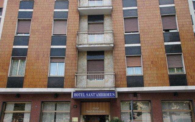 SantAmbroeus hotel вид на фасад