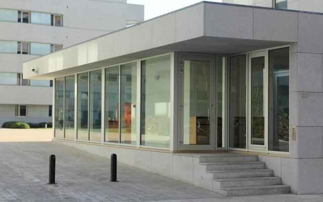 Отель LoftAbroad Studios вид на фасад