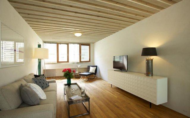 Апартаменты Langhans Apartments Прага комната для гостей
