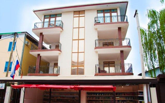 Гостиница Морская Сказка вид на фасад