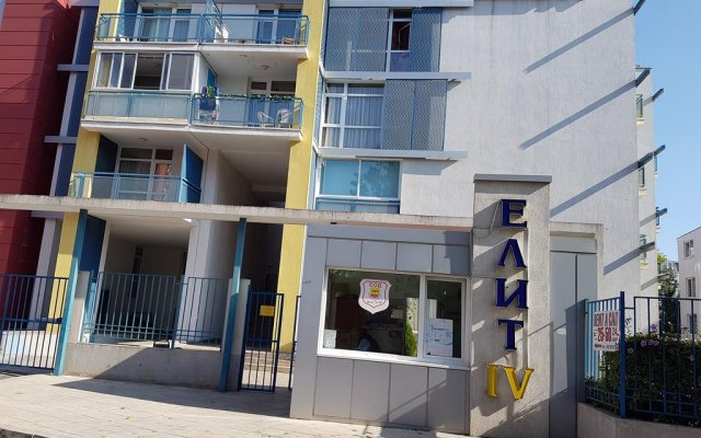 Апартаменты Elite 4 Sunray Apartments Солнечный берег вид на фасад
