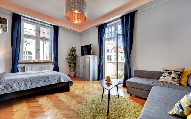 Апартаменты Apartamenty Nadmorskie Marina Apartments Сопот комната для гостей