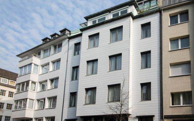 Отель Düsseldorfer Appartment вид на фасад
