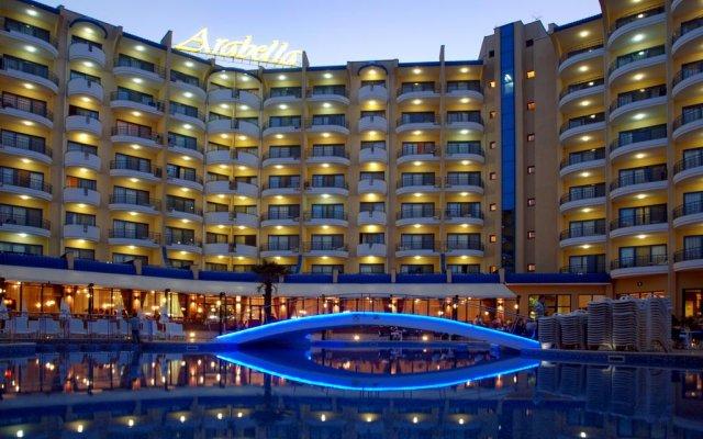 Отель Grifid Arabella Hotel - Все включено Болгария, Золотые пески - отзывы, цены и фото номеров - забронировать отель Grifid Arabella Hotel - Все включено онлайн вид на фасад