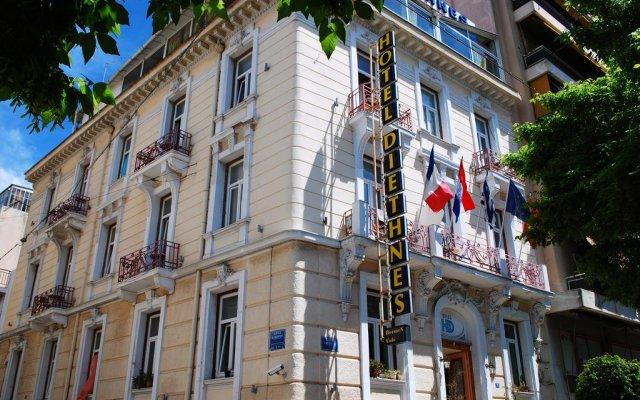 Diethnes Hotel вид на фасад
