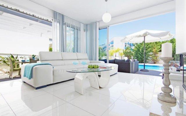 Отель Villa Adonia Кипр, Протарас - отзывы, цены и фото номеров - забронировать отель Villa Adonia онлайн комната для гостей