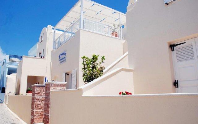 Reverie Santorini Hotel вид на фасад