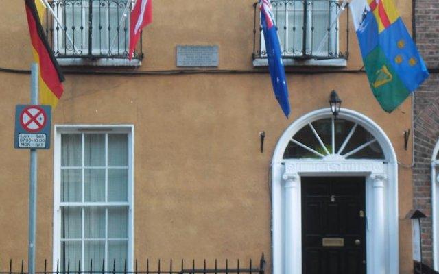 The Dublin Central Hostel вид на фасад