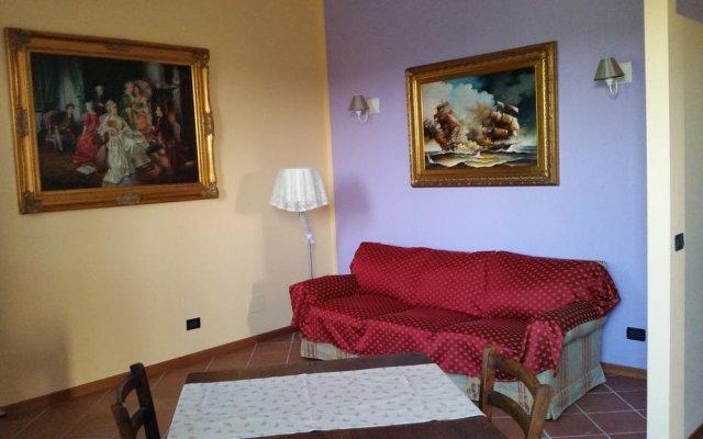 Отель B&b Cervare Монтелупоне комната для гостей