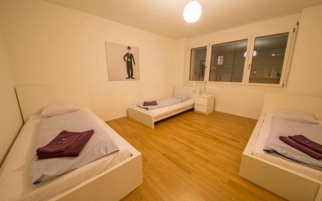 Отель HITrental Kreuzplatz Apartments Швейцария, Цюрих - отзывы, цены и фото номеров - забронировать отель HITrental Kreuzplatz Apartments онлайн комната для гостей
