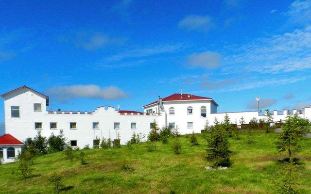 Отель Огни Мурманска Мурманск вид на фасад