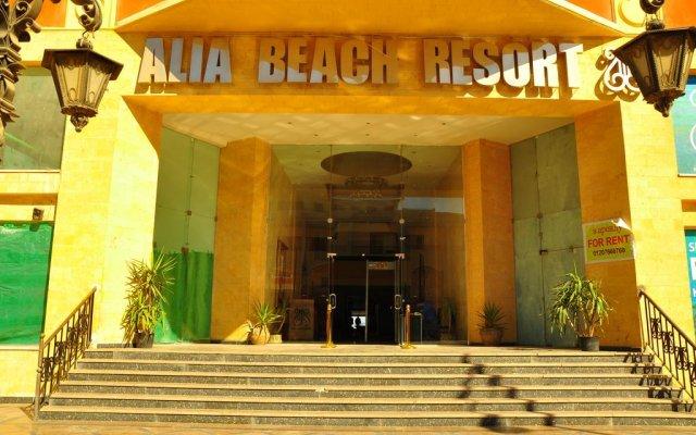 Отель Alia Beach Resort вид на фасад