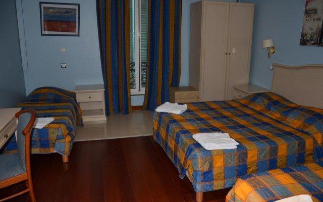 Baccarat Hostel комната для гостей