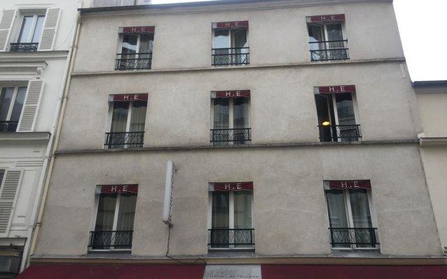 Hotel de l'Europe вид на фасад