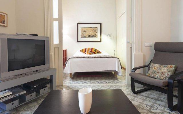 Отель Habitat Apartments Banys Испания, Барселона - отзывы, цены и фото номеров - забронировать отель Habitat Apartments Banys онлайн комната для гостей