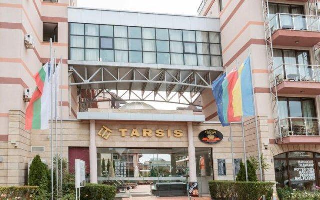 Отель in Tarsis Hotel & Spa Болгария, Солнечный берег - отзывы, цены и фото номеров - забронировать отель in Tarsis Hotel & Spa онлайн вид на фасад