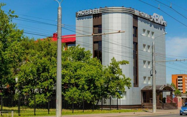 Гостиница Авиа вид на фасад