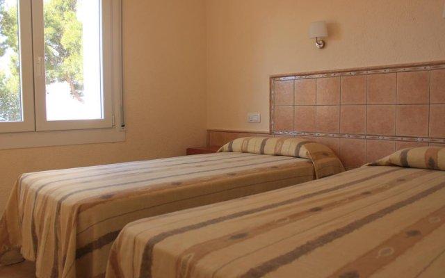 Апартаменты La Madrague Apartments Курорт Росес комната для гостей